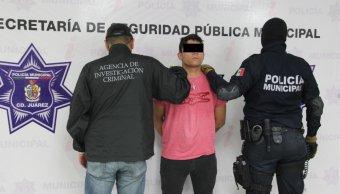 Foto: Policías ministeriales y federales detuvieron a Roberto 'El Caballo'. El 28 de marzo de 2019