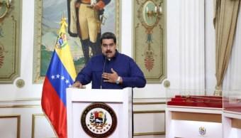 Foto: Nicolás Maduro, presidente de Venezuela, habla en el Palacio de Miraflores, el 11 de marzo del 2019