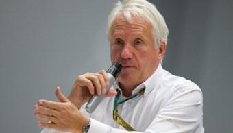 Foto: Charlie Whiting, director de carreras de la Fórmula 1, del 10 de octubre del 2014