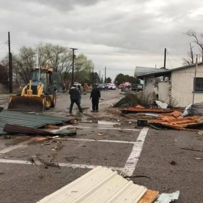 Tornado destruye 10 casas en Nuevo México