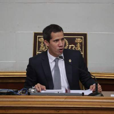 Asamblea Nacional podría aprobar intervención de EU en Venezuela, dice Guaidó