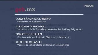 Foto: Funcionarios mexicanos hablarán de temas migratorios en EU
