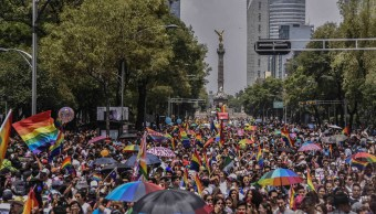 Foto: Miles de personas se congregaron en el Ángel por marcha del orgullo gay, 26 junio 2019