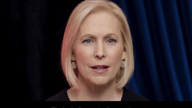 Foto: Gillibrand se une así a la larga lista de políticos demócratas que ya han anunciado que se postulan como candidatos, el 17 de marzo de 2019 (Reuters)