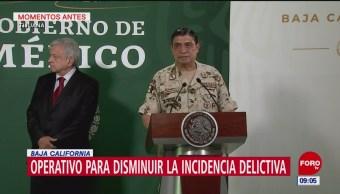 Gobierno de México aplica operativo de seguridad en Tijuana