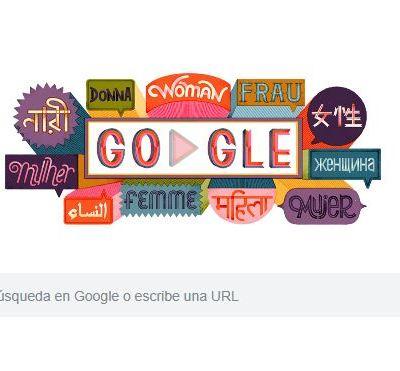Google conmemora el Día Internacional de la Mujer con frases célebres