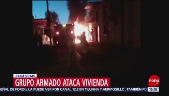 FOTO:Grupo armado ataca vivienda en Zacatecas; muere mujer, 24 Marzo 2019
