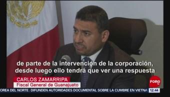 Guanajuato investiga actuación de policías en Santa Rosa de Lima