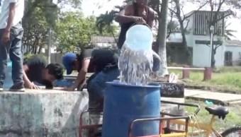Foto Habitantes Coatzacoalcos, Veracruz, sufren escasez de agua 13 marzo 2019