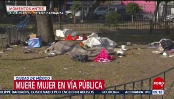 Hallan a mujer muerta en calles de la Venustiano Carranza