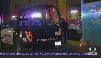 Hombre muere por disparos de arma de fuego en Ecatepec, Edomex