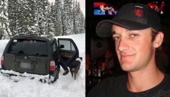 hombre atrapado en nieve sobrevive comiendo salsa picante