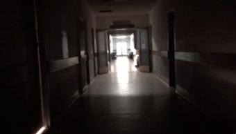 Foto: Hospital en Venezuela durante apagón