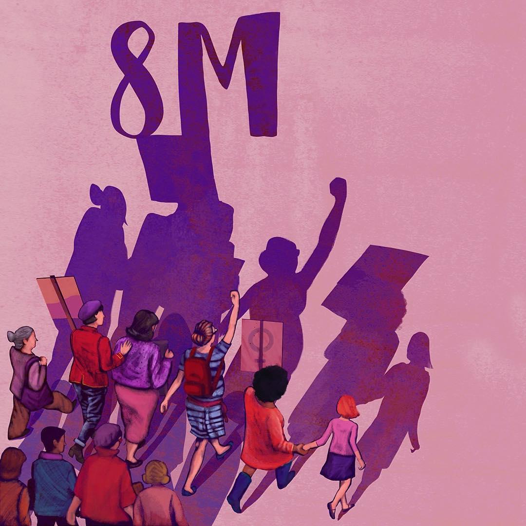 foto huelga feminsita 8m 1