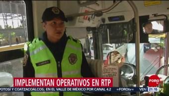 Foto: Operativo Frenar Robos Trasporte Público Cdmx 5 de Marzo 2019