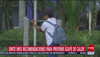 FOTO: IMSS da recomendaciones para evitar golpe de calor, 16 marzo 2019