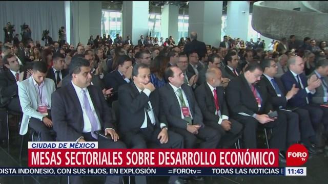 Inauguran mesas sectoriales sobre Desarrollo Económico en CDMX
