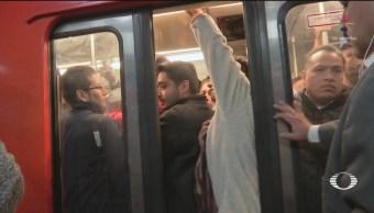Foto: Ineficiente Transporte Publico Cdmx 19 de Marzo 2019