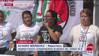 Inicia reconstrucción de predios en Tláhuac tras 19S