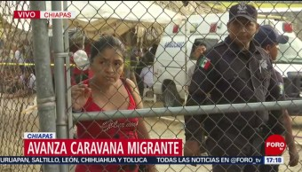 Foto: INM Módulo Mapastepec Atender Caravana Migrante 29 de Marzo 2019