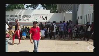 Foto: INM Suspende Atención Migrantes Tapachula Chiapas 20 de Marzo 2019