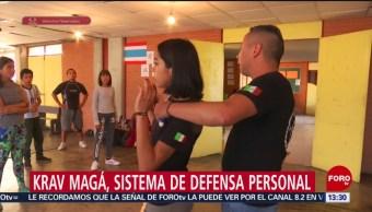 Foto: Instructores mexicanos e israelíes enseñan a defensa personal a mujeres