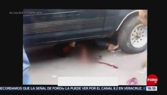 Foto: Video Atropella Delincuente Iztapalapa CDMX 22 de Marzo 2019