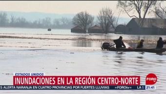 Foto: Inundaciones EU USA Muertos 19 de Marzo 2019
