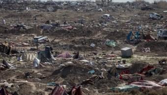 Foto: El último pueblo sometido por el EI en Siria cae ante las fuerzas respaldadas por EU, marzo 23 de 2019 (Getty Images)