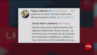 Foto: Jenaro Villamil Felipe Calderón Fake News 4 de Marzo 2019