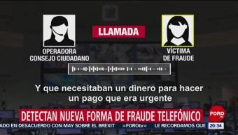 Foto: Patrona Nuevo Fraude Telefónico CDMX 25 de Marzo 2019