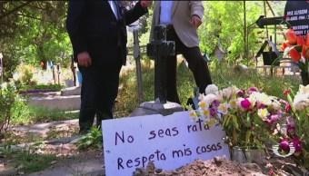 Foto: Ladrones en la CDMX no respetan ni a los muertos