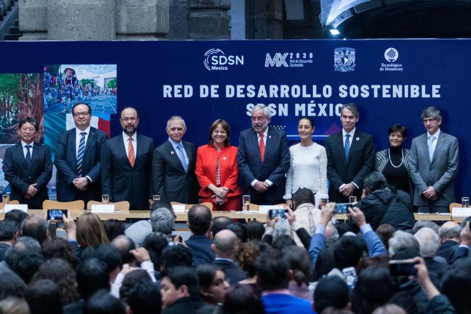 desarrollo sustentable contra la pobreza, alfonso romo, red de desarrollo sostenible de méxico, cuartoscuro, 7 de marzo de 2019