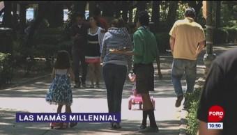 Las mamás millennial