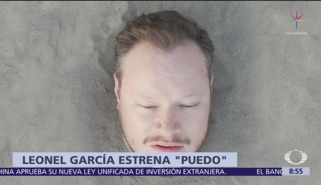 Leonel García estrena segundo sencillo musical llamado 'Puedo'