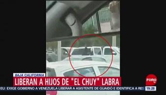 Foto: Liberan Secuestrados Operador Arellano Félix Secuestrados Tijuana 21 de Marzo 2019