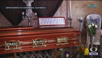Foto: Llegan a Guatemala los cuerpos de migrantes fallecidos en Chiapas