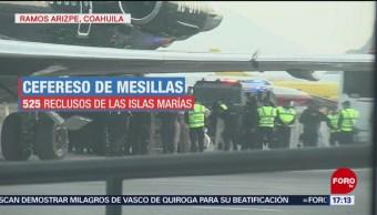 Foto: Llegan reos al penal de Ramos Arizpe, en Coahuila