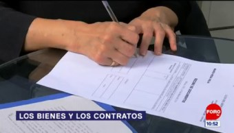 Los bienes y los contratos