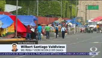 Maestros de Oaxaca no permitirán imposiciones de diputados, dice vocero de CNTE