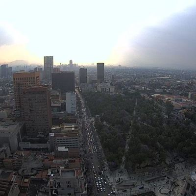 Zona norte del Valle de México amanece con mala calidad de aire este domingo