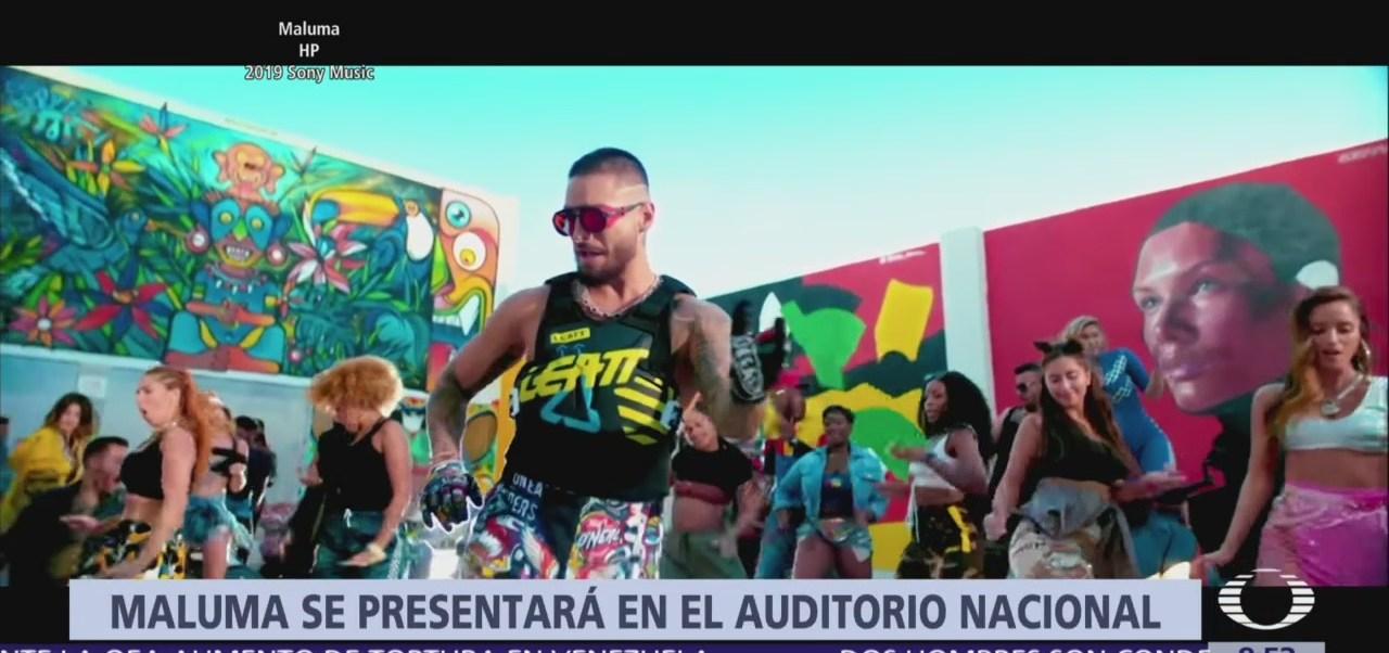 Maluma se presentará en la CDXM