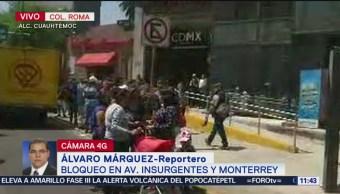Manifestantes retiran bloqueo de la Seduvi en CDMX