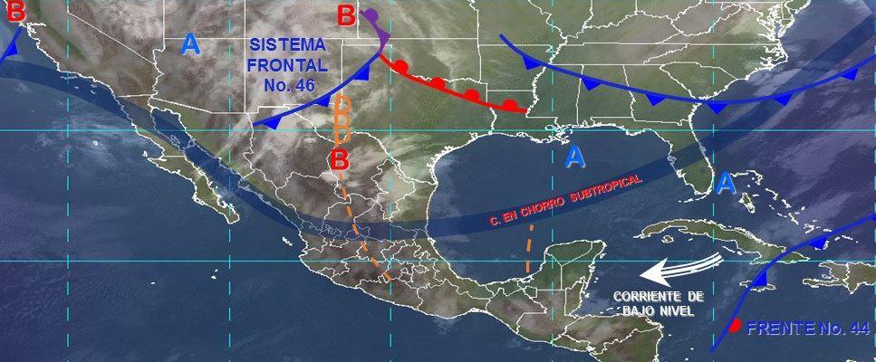 Foto: Imagen de fenómenos meteorológicos significativos del 23 de marzo