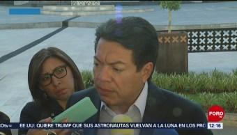 Mario Delgado pide a maestros de CNTE dar oportunidad de analizar reforma