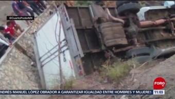 Foto: Más de 20 muertos en accidente carretero en Chiapas