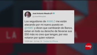 Foto: Meade Director HSBC Fake News 28 de Febrero 2019