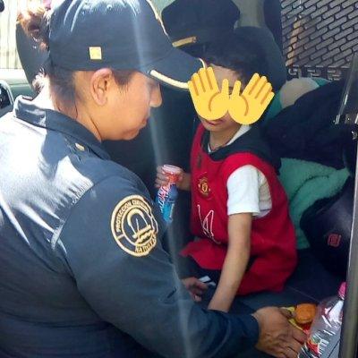 Niño maltratado es rescatado por policías en Tlalpan