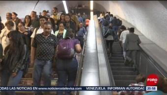 Foto: Metro Cdmx Reparar Escaleras Eléctricas 25 de Marzo 2019