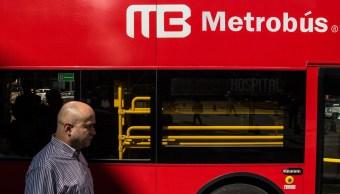 Foto: Sin servicio dos estaciones de la Línea 4 del Metrobús, 8 marzo 2019